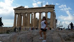 Top of the Acropolis , Evelina A - October 2015