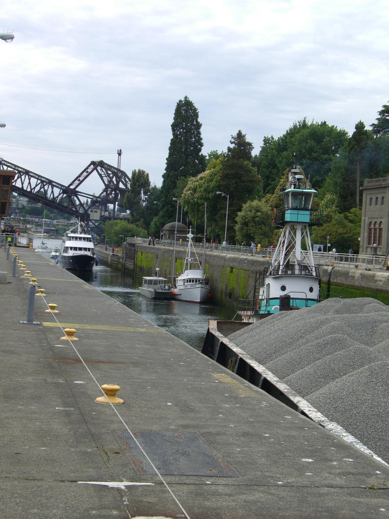 Ballard (Chittenden) Locks, Seattle - Seattle