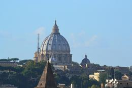 Photo of Rome Panoramic Bike Tour of Rome Basilica de San Pedro