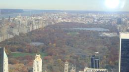 Photo of New York City Top of the Rock Observation Deck, New York central park in all its autumnal glory