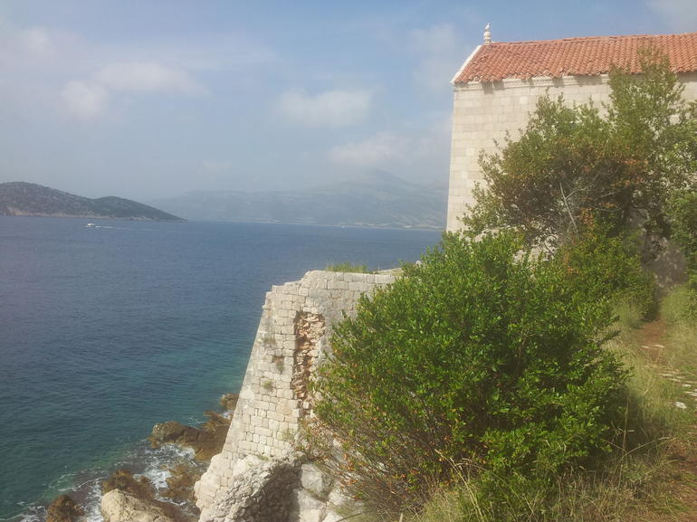 Church in the middle of nowhere. Felt unique. - Dubrovnik