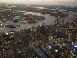 Foto von Sydney Sydney Tower-Restaurantbüfett City view