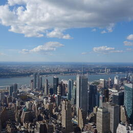 Photo of New York City Mamma Mia! On Broadway Empire State Building