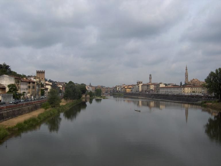 From the Ponte Vecchio - Florence