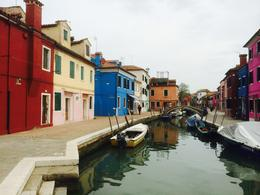 Colourful buildings in Burano. , Felix - April 2014