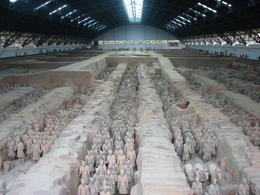 Photo of Xian Xi'an Small-Group Tour: Terracotta Warriors and Ancient City Wall Bike Tour Inside the Museum