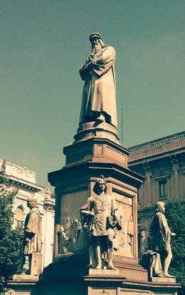 Photo of Milan Milan Half-Day Sightseeing Tour with da Vinci's 'The Last Supper' Leonardo's statue