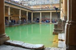 Photo of London Salisbury, Lacock and Bath Day Trip from London Outdoor pool in Bath's Roman Bath complex