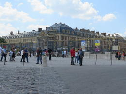 Outside Versaille before going in... , Denise B - June 2014