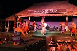 Hawaiian performers - January 2010
