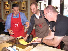 Photo of Rome Rome Walking Tour and Cooking Class ravioli