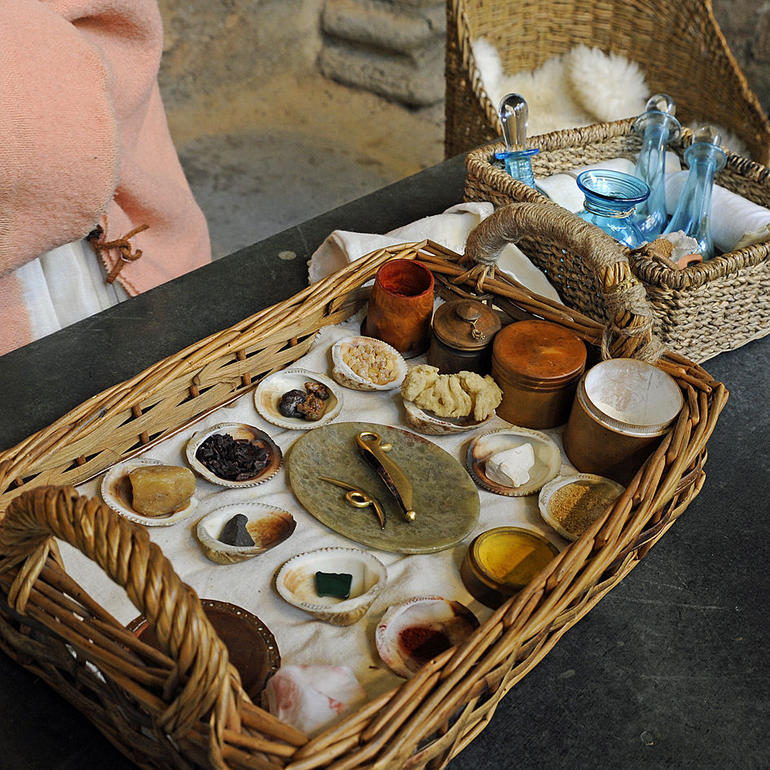 Roman make-up - London