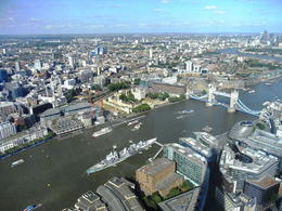 Amazing views from the Shard, Yaiza - October 2013