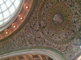 Photo of Chicago Chicago Walking Tour: Tiffany Art Glass Landmarks Tiffany tiles around dome