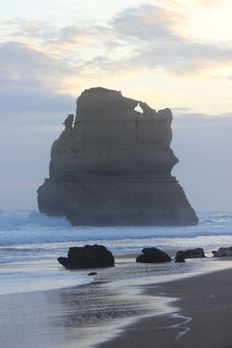 One sight of the Twelve Apostles at the end of a rainy day. , Nadège G - July 2015