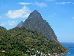 Photo of St Lucia St Lucia Catamaran Day Sail View from Lunch