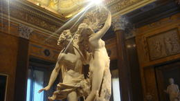 Photo of Rome Skip the Line: Borghese Gallery and Gardens Walking Tour Apollo and Daphne