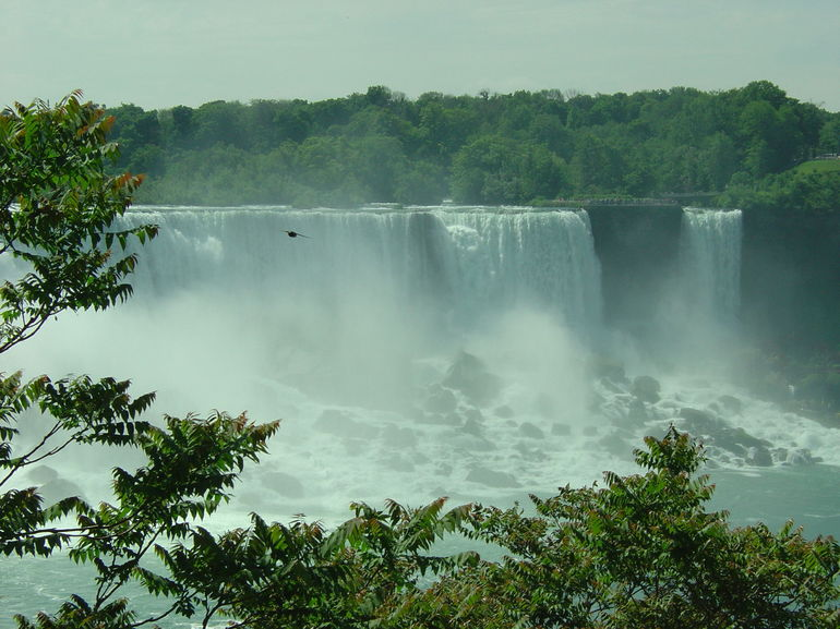 Before Getting onto the Hornblower Cruise, U S Falls, Niagara Falls