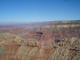The colors of the Canyon are amazing, World Traveler - June 2011