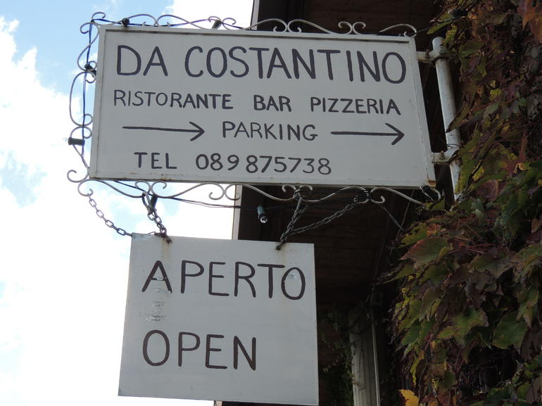 Costantinio's thanks to Antonio - Naples