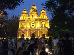 St. Joseph's Church at night - September 2012
