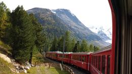 Photo taken from the Bernina Express. Wonderful excursion, very good tour guide and bus driver for the trip home. Loved the train ride up the alps and shopping in St Moritz. Would have liked more ... , Gaye - October 2013