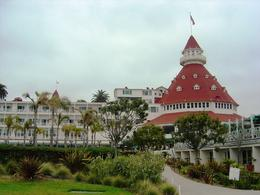 The famous Hotel del Coronado on Coronado Island , Leah - May 2011