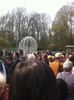 Thousands of people visiting each year. We decided to go on April 26, 2011 which is also the day of the Keukenhof Gardens Flower Parade so it was particular busy. We visited the gardens in the..., Dominique - September 2011