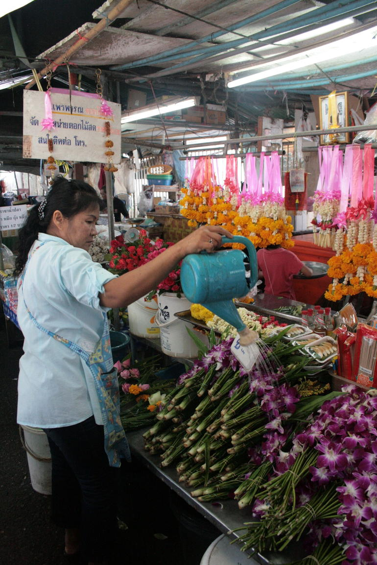Morning Market Stall - Bangkok