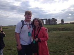 Enjoying Stonehenge together. : , Brigid D - October 2015