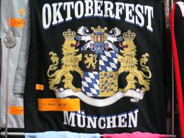 Photo of Munich Bavarian Beer and Food Evening Tour in Munich Oktoberfest T-Shirt for Sale