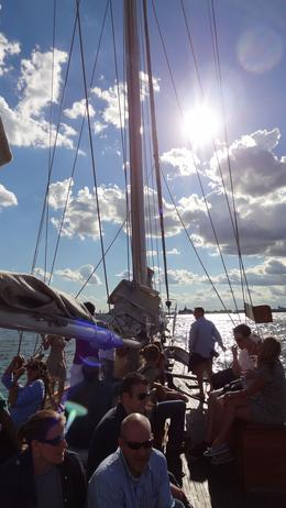 Photo of New York City Classic Schooner Sailing Tour in New York City: Wine-Tasting, Craft Beer or Jazz Sail On board