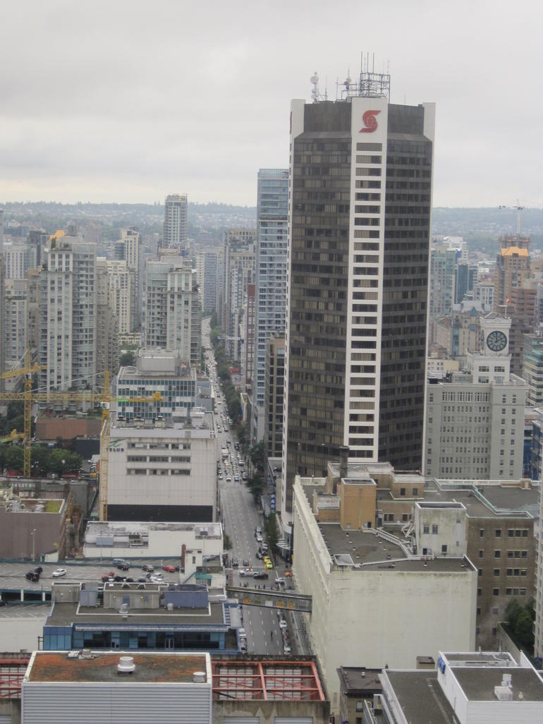 One of the Views from the Harbour Centre Tower - Vancouver