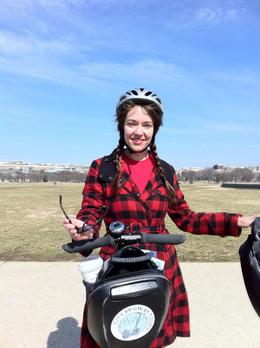 Photo of Washington DC Washington DC Segway Tour Our fab guide, Annie!