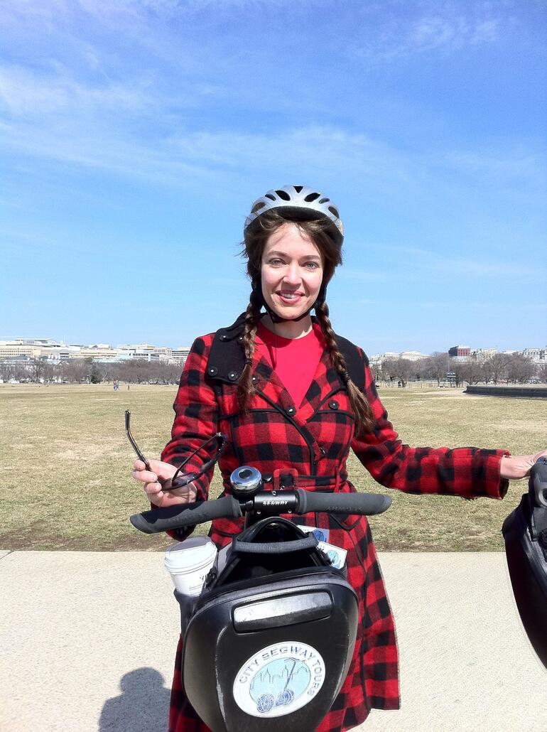 Our fab guide, Annie! - Washington DC