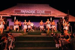 Performers at the luau - January 2010