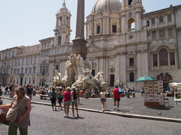 Photo of Rome Ancient Rome Half-Day Walking Tour Piazza Navona