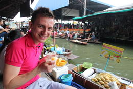 Lunch on Floating Markets, Asha & Brock - July 2013
