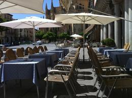 Photo of Madrid Avila and Segovia Day Trip from Madrid Segovia plaza and cathedral