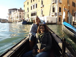 Photo of Venice Venice Walking Tour and Gondola Ride Sisters enjoying a gondola ride in Venice, Italy