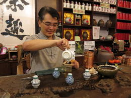 Photo of Shanghai Experience Shanghai: Small-Group Tea Ceremony Tea Master making tea