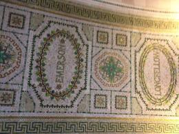 Chicago Cultural Center was former public library - authors names are in mosaic, Laura All Over - May 2012