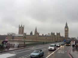 Photo of London The Original London Sightseeing Tour: Hop-on Hop-off Un temps so british (pluie,vent et froid)