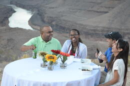 Photo of Las Vegas Viator VIP: Grand Canyon Sunset Helicopter Tour with Dinner Unbelivable Experiene!