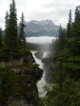 Photo of Calgary Rocky Mountains Tour: Calgary to Jasper Another view of Athabasca Falls