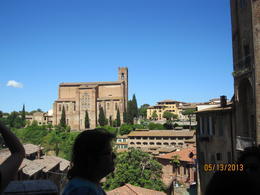 Photo of Florence Siena and San Gimignano Day Trip from Florence Church of San Domenico