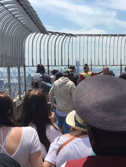 We saw DNCE at the Empire State Building!, AM - June 2016