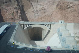 view of the dam tunnel , peter - September 2011