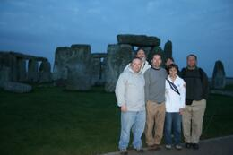 Our group at after coming out from Stonehenge., Matthew L - September 2010