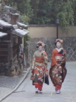 this was the last stop made in the tour. got lucky to see women dressed as geishas walking through the village., Dustin phillip S - November 2010